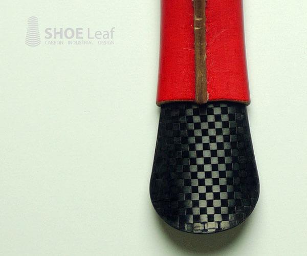 ヒロセ金型カーボン靴べらshoeleaf