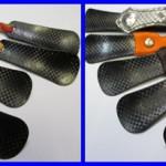 CFRP製くつべらのサンプル品