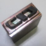 ヒロセ金型 CIDロゴ焼印