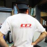 TシャツにCIDロゴをプリントしてみました。