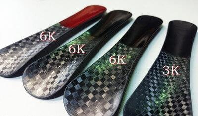 ヒロセ金型 CFRP炭素繊維6kと3kフィラメント