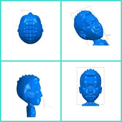 ヒロセ金型 鍛造型製作 3Dスキャンデータ