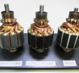 ヒロセ金型 磁性体添加CFRPモーターコア